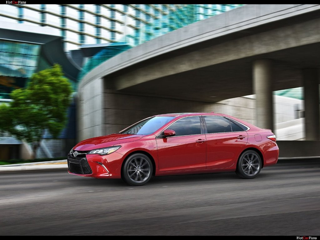 Vehicles Wallpaper: Toyota Camry XSE