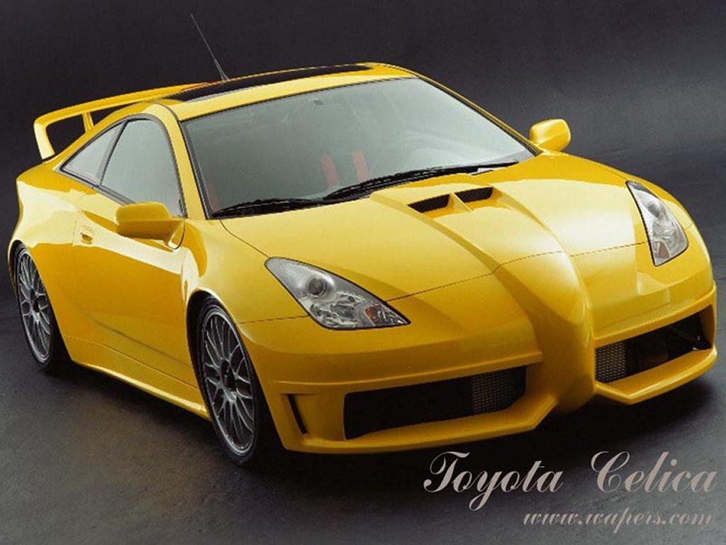 Vehicles Wallpaper: Toyota Celica
