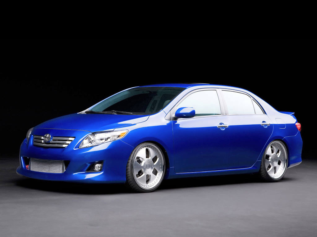 Vehicles Wallpaper: Toyota Corolla S3 Concept
