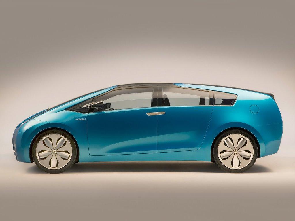 Vehicles Wallpaper: Toyota Hybrid X