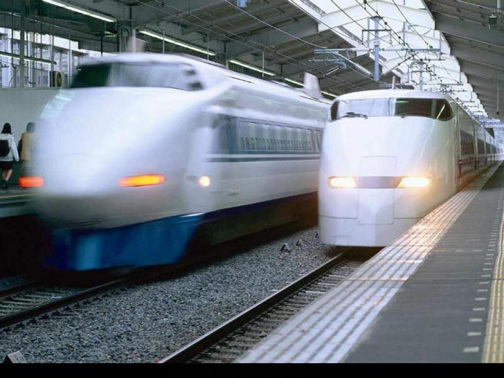 Vehicles Wallpaper: Trains