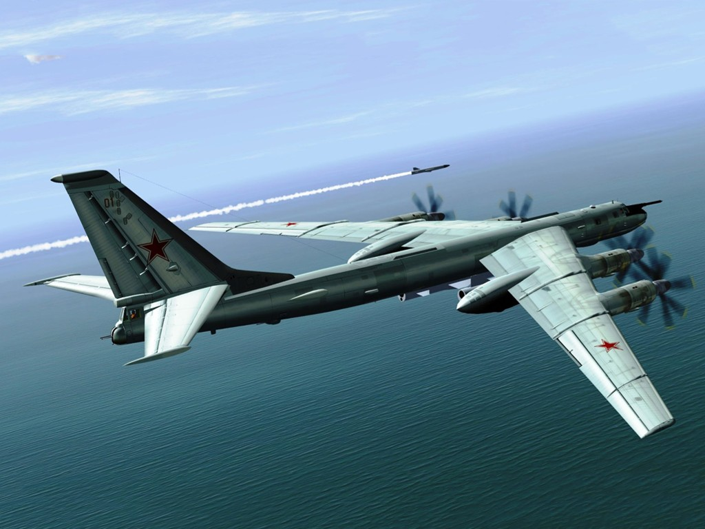 Vehicles Wallpaper: Tupolev Bomber