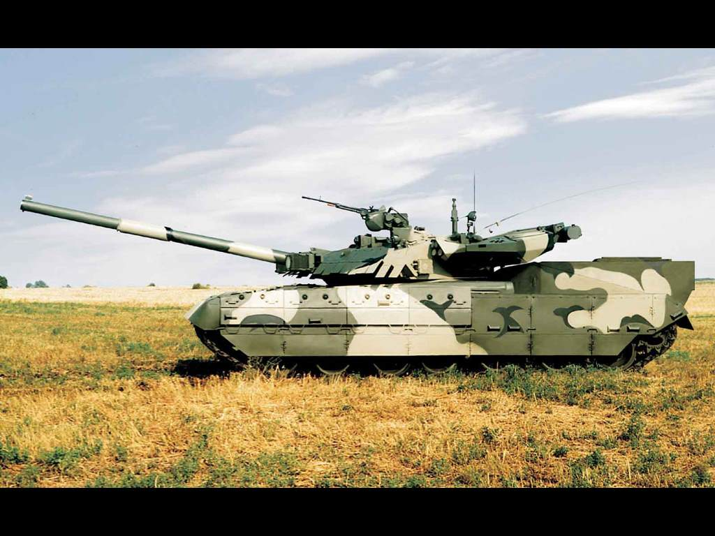 Vehicles Wallpaper: Ukranian Tank