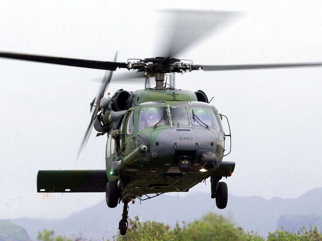 Vehicles Wallpaper: USAF Helicopter