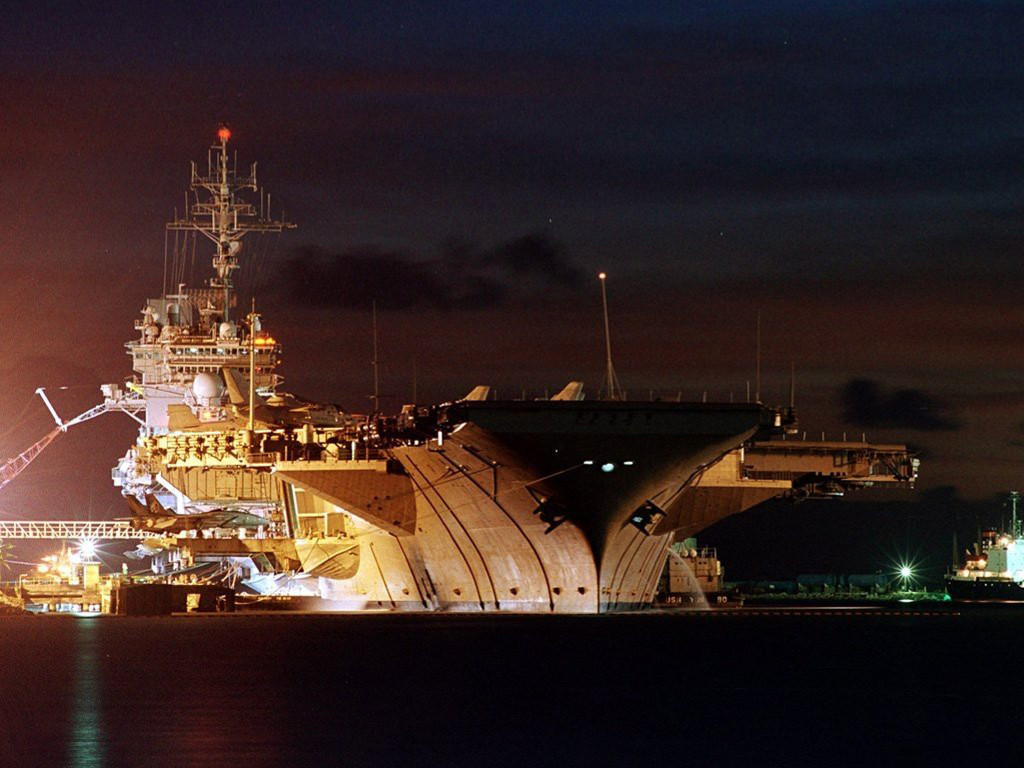Vehicles Wallpaper: USS Kitty Hawk