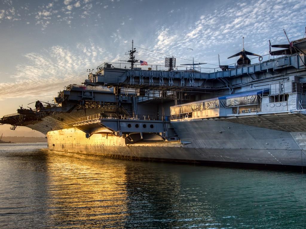 Vehicles Wallpaper: USS Midway