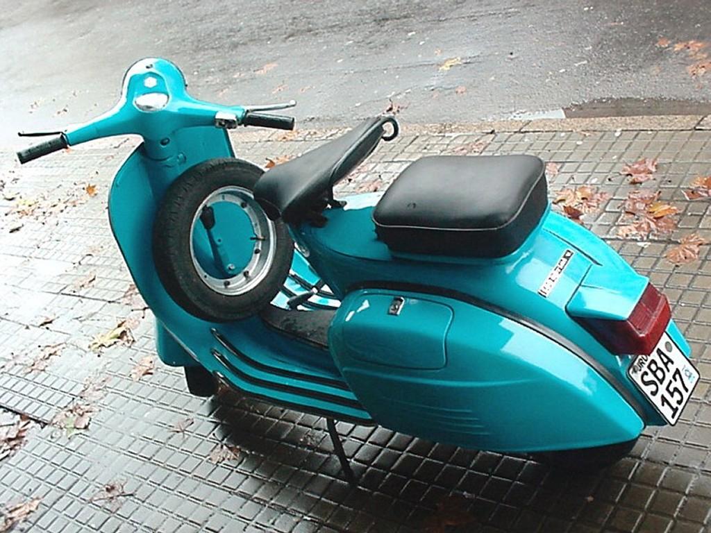 Vehicles Wallpaper: Vespa Scooter