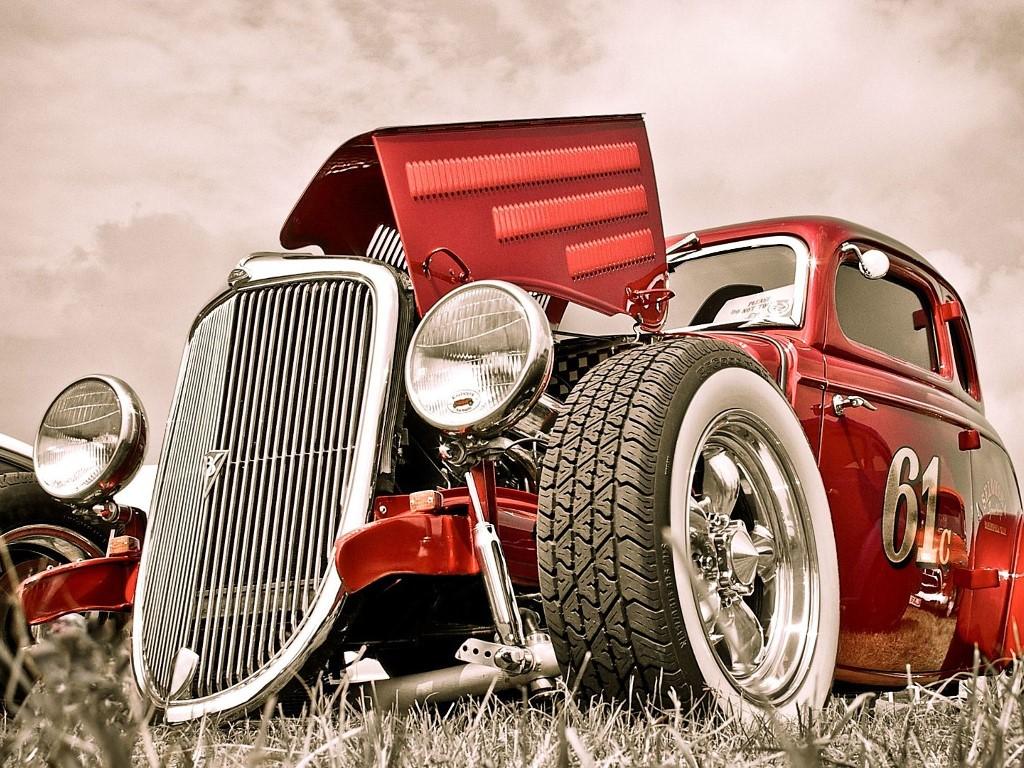 Vehicles Wallpaper: Vintage Car