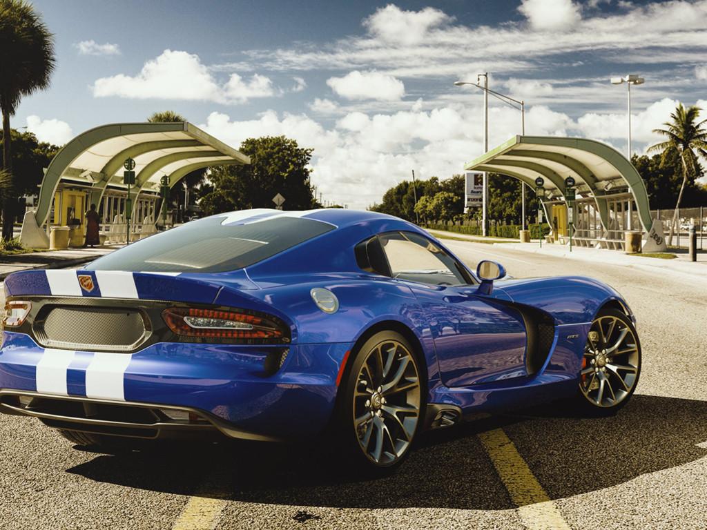 Vehicles Wallpaper: Viper GTS