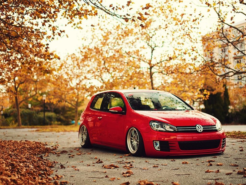 Vehicles Wallpaper: Volks - Autumn