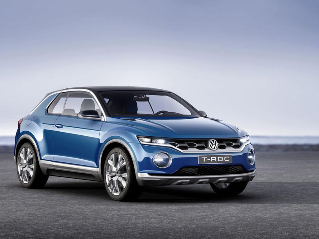 Vehicles Wallpaper: Volkswagen T-Roc Concept
