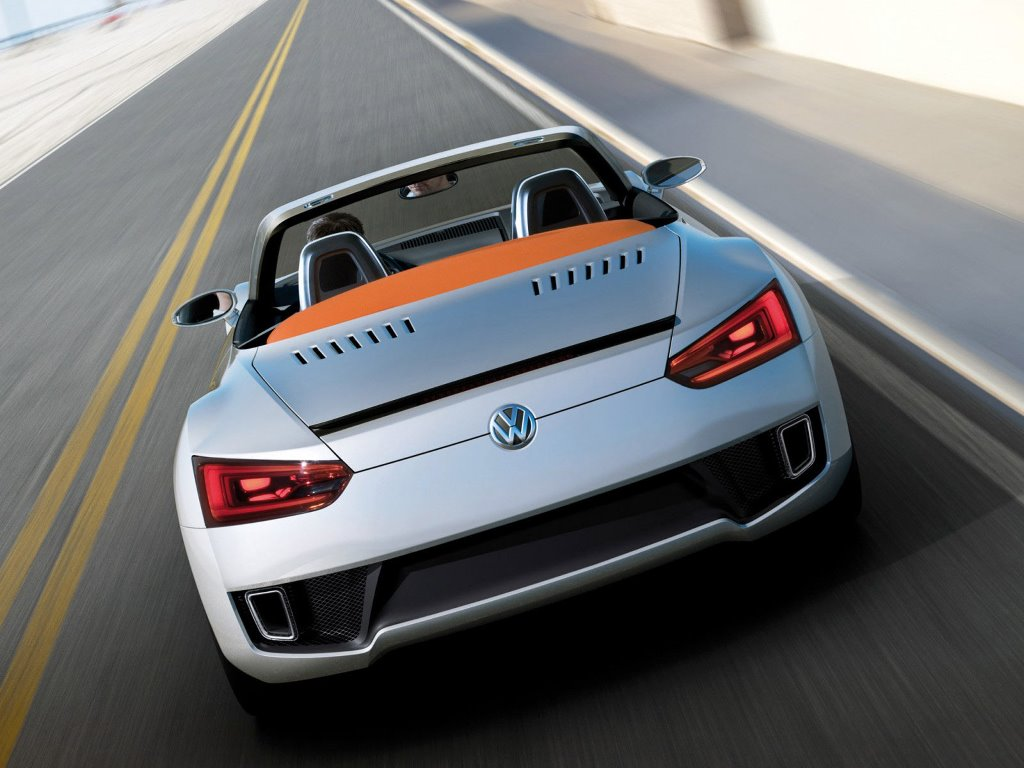 Vehicles Wallpaper: Volkswagen BlueSport Roadster