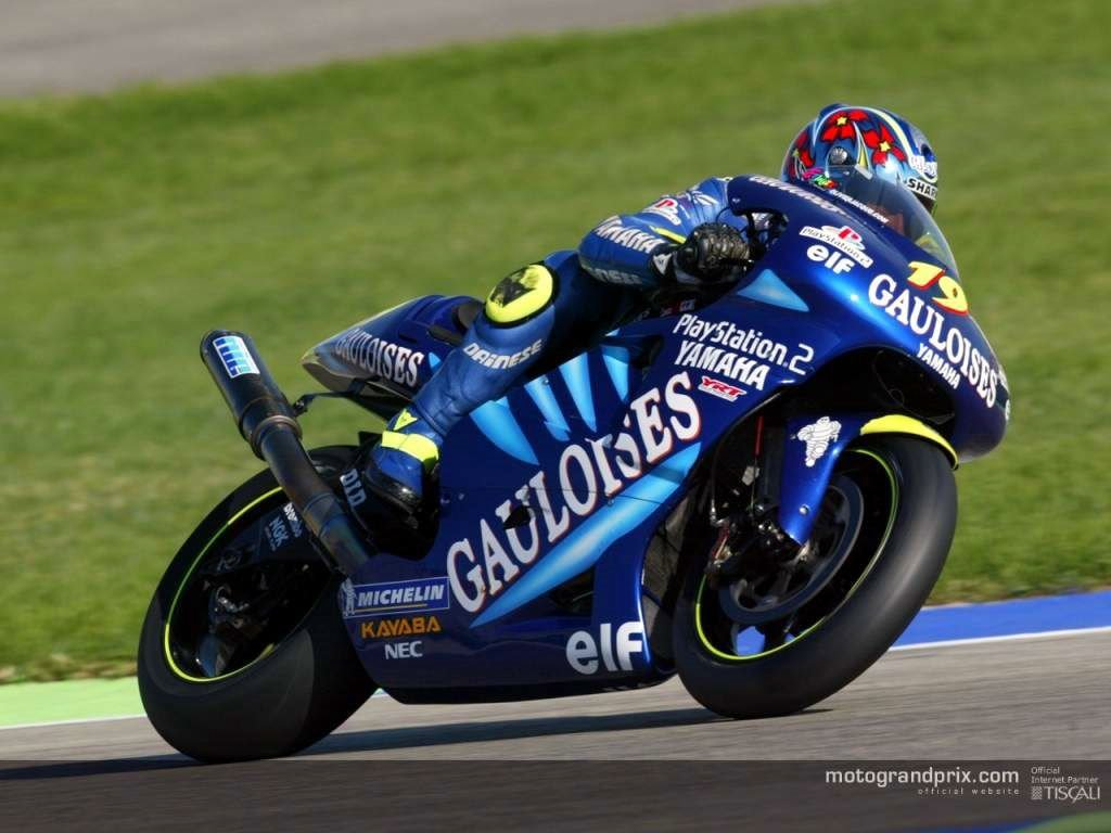 Vehicles Wallpaper: Yamaha - Moto GP