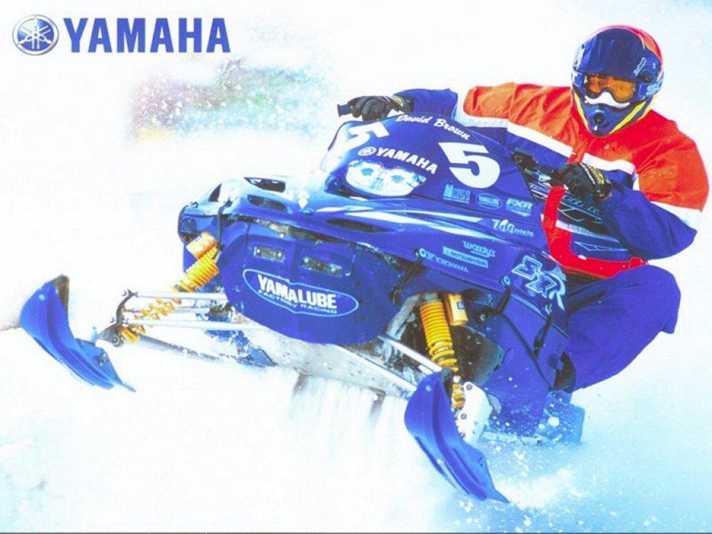 Vehicles Wallpaper: Yamaha Snowbike