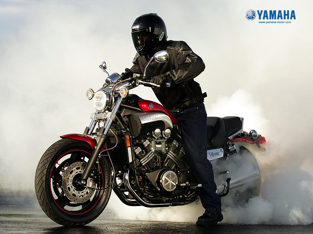 Vehicles Wallpaper: Yamaha Vmax
