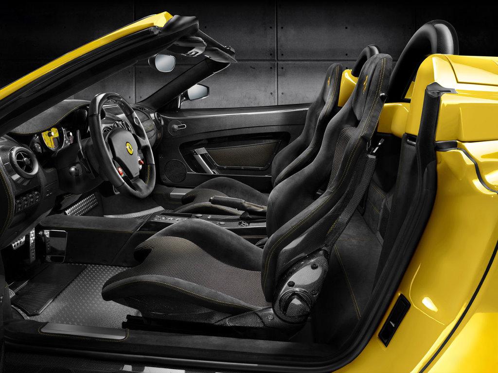 Vehicles Wallpaper: Ferrari - Cockpit