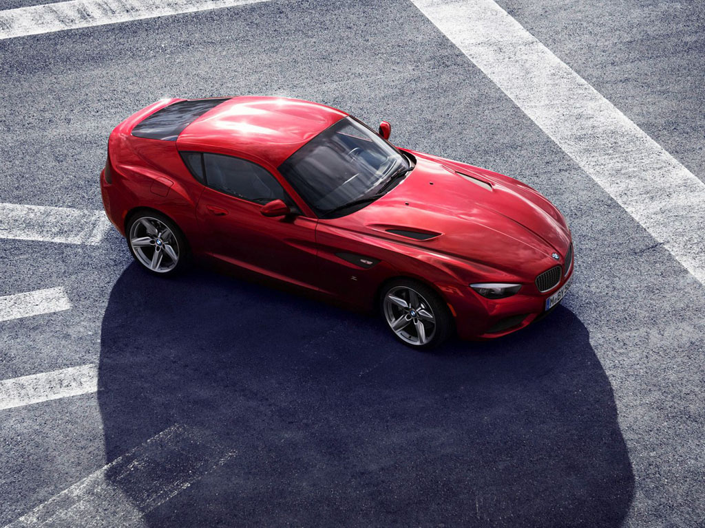 Vehicles Wallpaper: BMW Zagato Coupe
