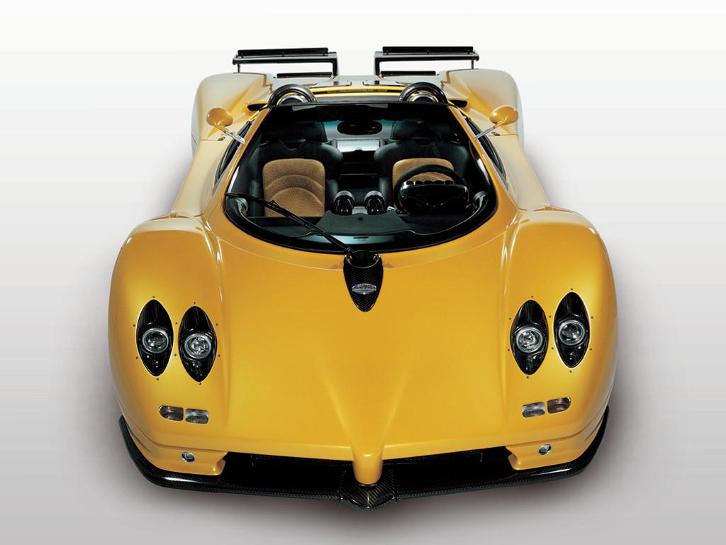 Vehicles Wallpaper: Zonda Roadster
